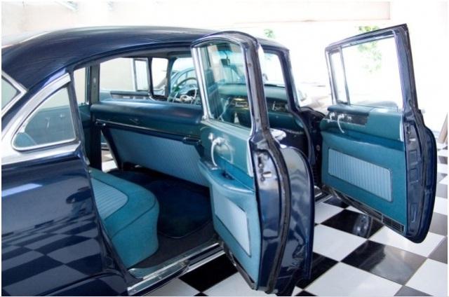 O meu queridinho, Cadillac Fletwood azul - estofamento interno.