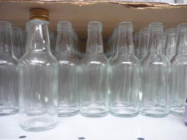 Garrafinhas de plástico