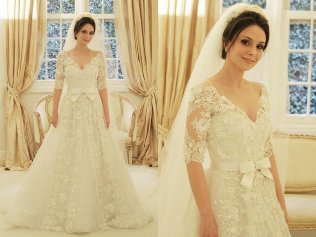 Um dos meus preferidos, não sei se pela beleza clássica, ou pela noiva com essa carinha boa.