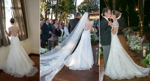 Já postamos essa noiva e esse vestido no facebook do blog. Amei assim que vi!