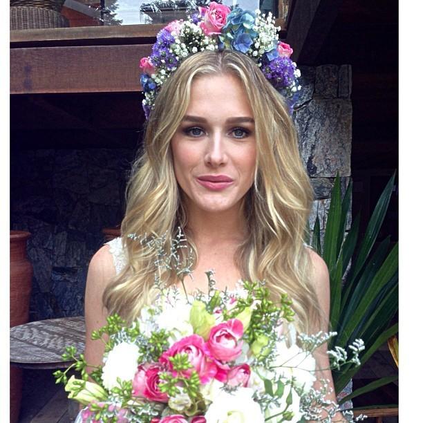 A noiva em destaque!