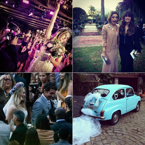 Seleção de fotos do Instagram