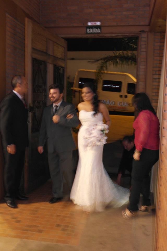 Muitas fotos remidas da noiva (acho que emocionei).