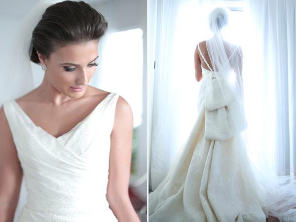Fonte: Constance Zahn/ Vestido de noiva: André Betio