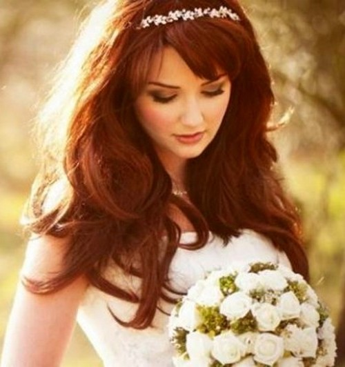 Penteados-para-noivas-Cabelo-solto