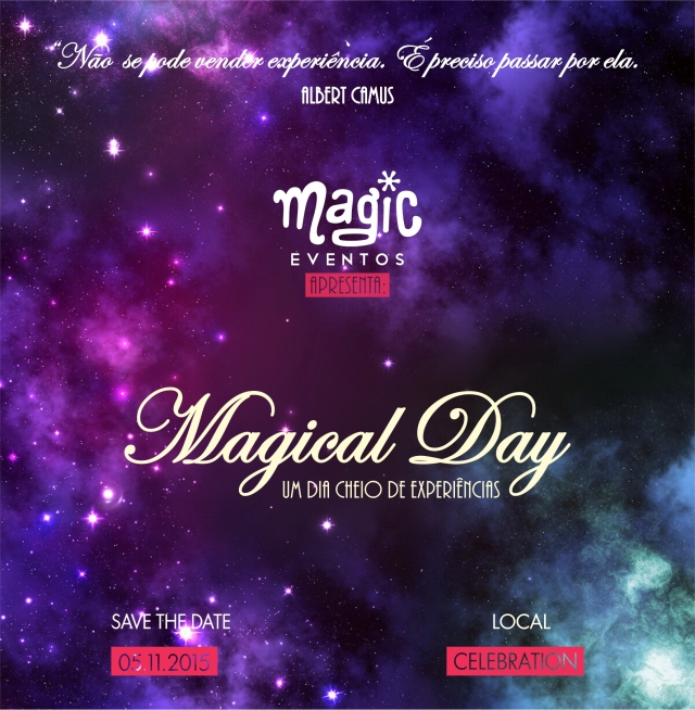 MAGICAL DAY - CONVITE BLOG
